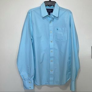 Abercrombie & Fitch men's long sleeve button up
